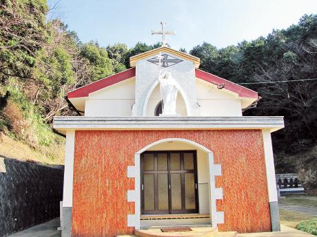 牢屋の窄殉教記念教会|世界遺産の島 五島市